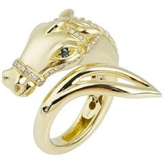 18 Karat Gold Monan Another World 0.21 Carat Diamond Ring