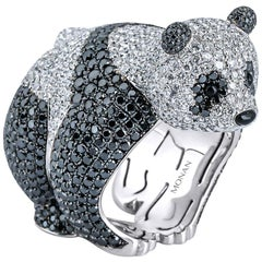 18 Karat Gold Monan Another World 8.53 Carat Diamond Ring
