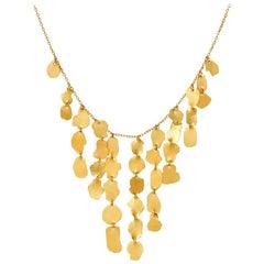 18 Karat Gold PSTM Myanmar Kan Pyramid Necklace