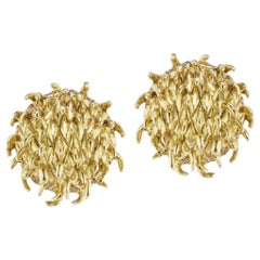 18 Karat Gold Earrings by Andrew Glassford