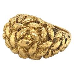 18 Karat Gold Ring by Van Cleef & Arpels