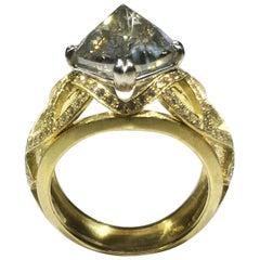 18kt Gold 4.49 Ct. Diamond Ring