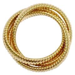 18 Karat Gold Triple Bracelet