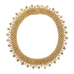 18 Karat Gold Victorian Necklace