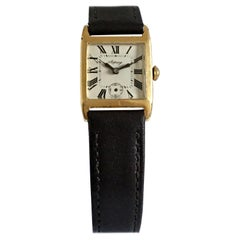 18 Karat Gold Vintage 1930s Asprey Ladies Watch
