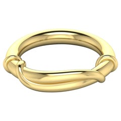 22 Karat Gold Wrap Ring by Romae Jewelry Inspired by Ancient Examples