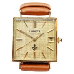 18 Karat Gold Wristwatch Lorett