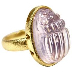 18 Karat Lavender Amethyst Ring