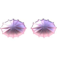 18 Karat Pink Gold Compass Cufflinks