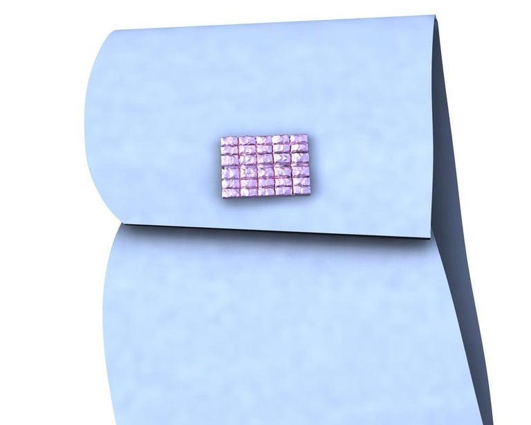 Women's or Men's 18 Karat Pink Gold Cufflinks For Sale