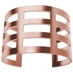 18 Karat Pink Gold Vermeil Cuff Bracelet