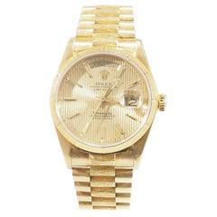 18 Karat Rolex Presidential Tiffany & Co. Yellow Gold, circa 1986