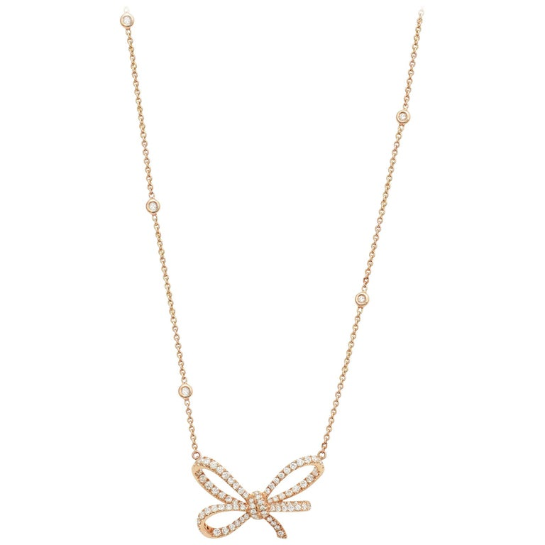 18 Karat Rose Gold and White Diamonds Cocktail Ring and Pendant For Sale 1