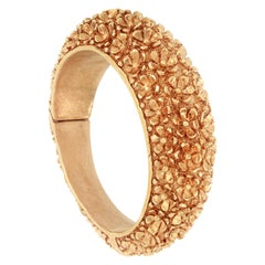 18 Karat Rose Gold Bangle