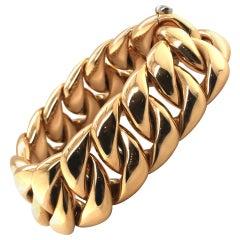 18 Karat Rose Gold Bracelet by Isabelle Fa