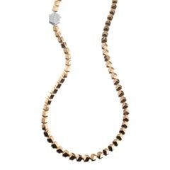 Paolo Costagli 18 Karat Rose Gold Brillante Necklace with Diamond Clasp