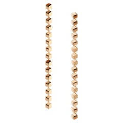 18 Karat Rose Gold Brillante Sexy Earrings