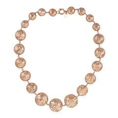 18 Karat Rose Gold gr. 37.20, Necklace