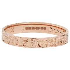 18 Karat Rose Gold Paper Ring by Allison Bryan