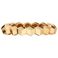 Paolo Costagli 18 Karat Rose Gold Stackable Brillante Band