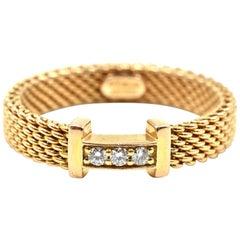 18 Karat Rose Gold Tiffany & Co. Somerset Ring