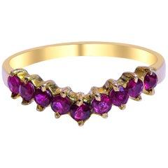 18 Karat Ruby Ladies Ring
