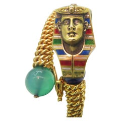 18 Karat SAS Egyptian Unique Bracelet