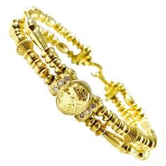 18 Karat Seidengang Bracelet