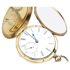 18 Karat Thos. Russel and Son Pocket Watch