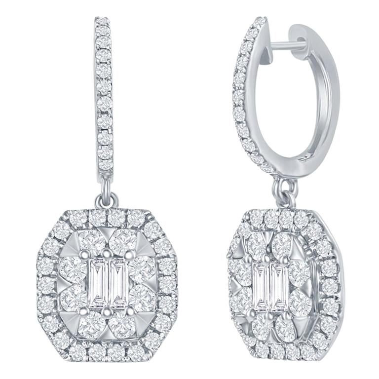 Belfiore Jewelry Drop Earrings