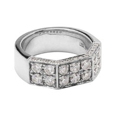 White Gold Fashion Rings
