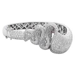 18 Karat White Gold Diamond Bracelet