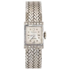 18 Karat White Gold Diamond Women's Watch