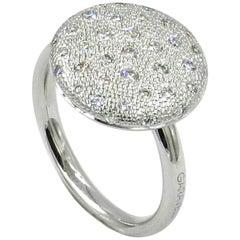 18 Karat White Gold Diamonds Garavelli Ring