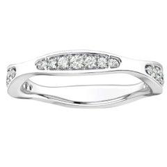 18 Karat White Gold Donna Marquise Shape Diamond Ring '1/4 Carat'