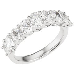 18 Karat White Gold Eternity Diamond Ring