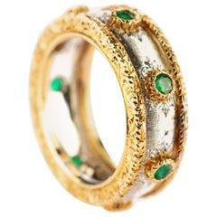 Baroque Band Rings