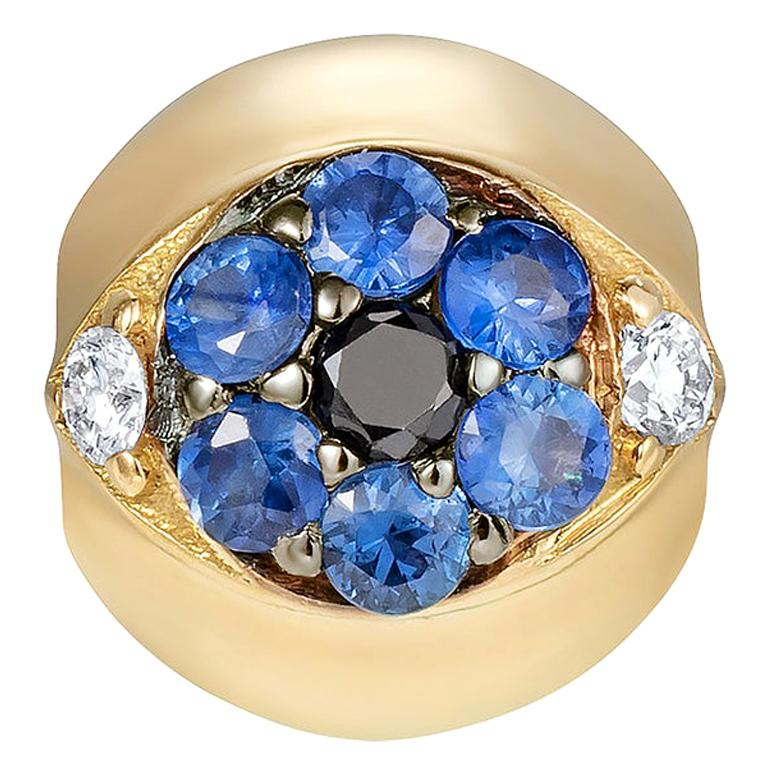 Sybarite Jewellery Diamond Charm Ball 18 Karat Yellow Gold