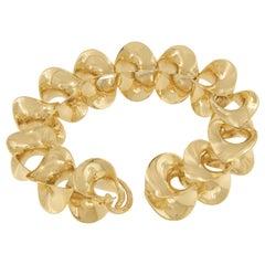 18 Karat Yellow Gold Bracelet by Award Winning Master Goldsmith Sean Gilson