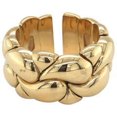 18 Karat Yellow Gold Casmir Ring by Chopard