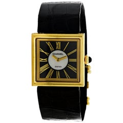18 Karat Yellow Gold Chanel Mademoiselle Watch