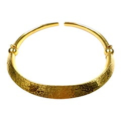 18 Karat Yellow Gold Choker Necklace by Lalaounis