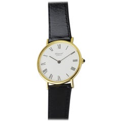 18 Karat Yellow Gold Chopard Manual Wind Dress Watch