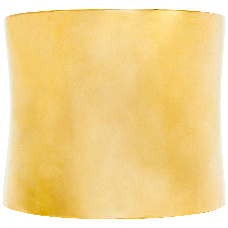18 Karat Yellow Gold Cuff