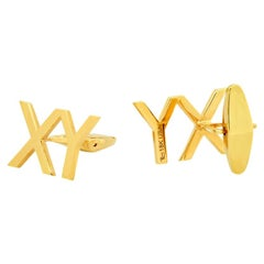"FARBOD 18 Karat Yellow Gold Cufflinks ""Alan"""