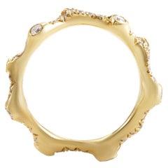 18 Karat Yellow Gold Diamond Band Ring KOR211DZZ