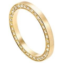 18 Karat Yellow Gold Diamond Full Eternity Ring #5-#8