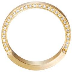 18 Karat Yellow Gold Diamond Ring #9~#12
