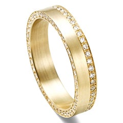 18 Karat Yellow Gold Diamond Ring #9~#12
