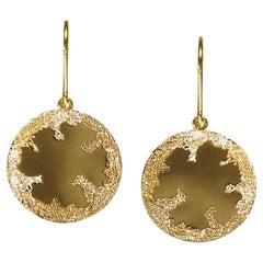 18 Karat Yellow Gold Earrings